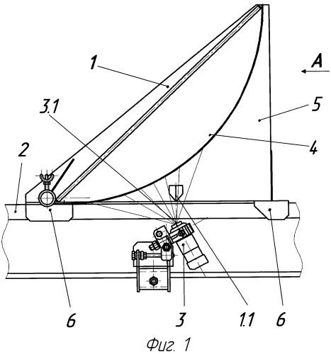 Способ настройки положения форсунки путевого лубрикатора и устройство для его осуществления