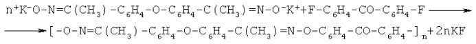 Способ получения полифениленэфиркетоноксимата