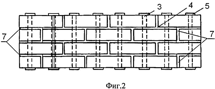 Сейсмостойкая кирпичная стеновая панель