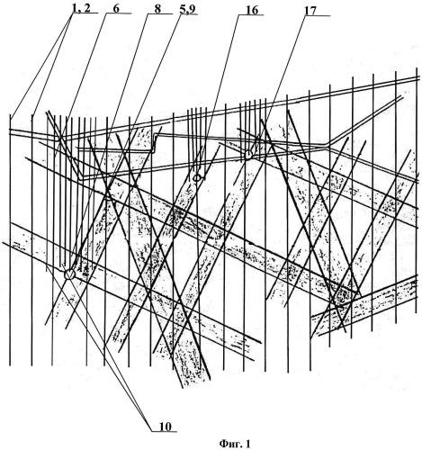 Способ укрепления оснований зданий на структурно-неустойчивых грунтах и грунтах с карстовыми образованиями