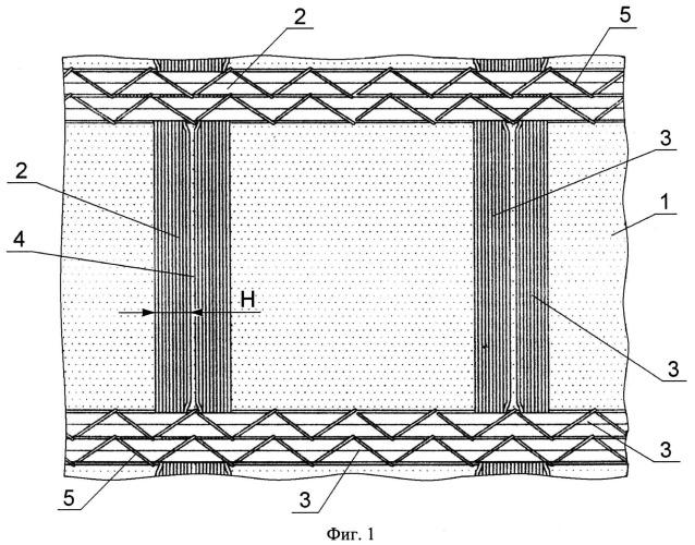 Армодренажный композитный геотекстильный материал
