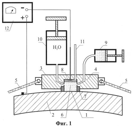 Устройство травления поверхности для металлографического анализа