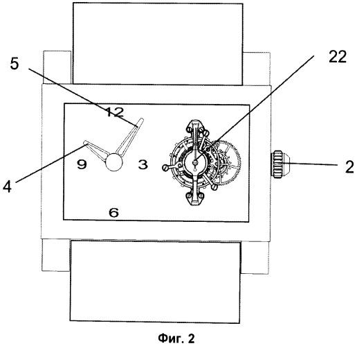 Способ передачи движения в таинственных часах и таинственные часы