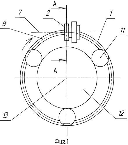 Тороидально-винтовой редуктор-преобразователь