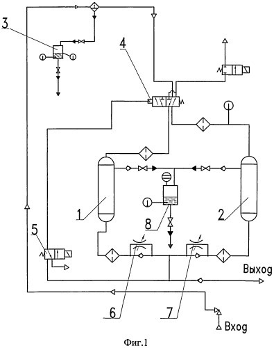 Адсорбер для блока осушки воздуха