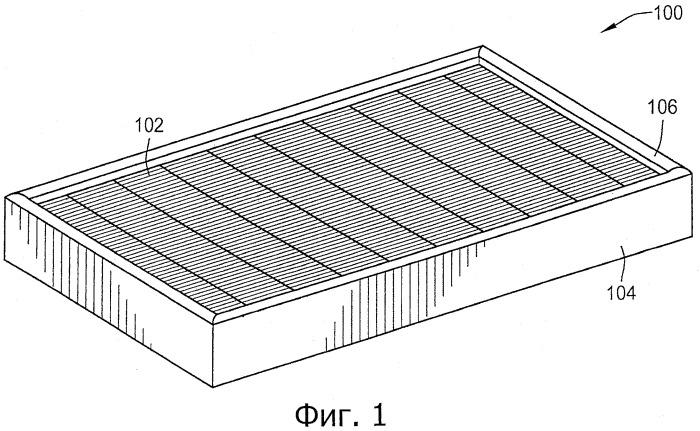 Безмембранный фильтр и/или неразъемная рамка для фильтра