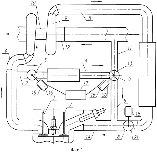 Способ регулирования двигателя внутреннего сгорания