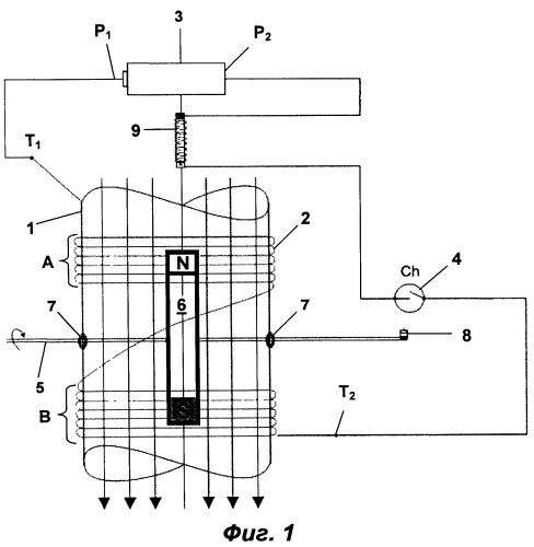 Электромагнитный двигатель и генератор рабочего крутящего момента