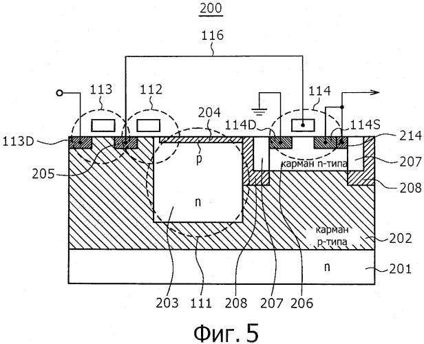 Формирователь сигналов изображения и система камеры