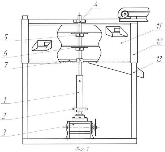 Плоское круглорешетное устройство для разделения корнеклубнеплодов на фракции