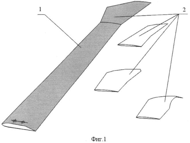Лопасть аэродинамической модели воздушного винта и способ ее изготовления