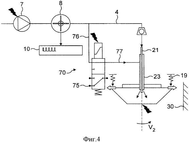 Способ и устройство для приготовления жидкого экстракта из вещества, содержащегося в емкости, с применением центробежных сил