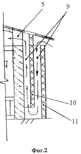 Система вентиляции животноводческого помещения