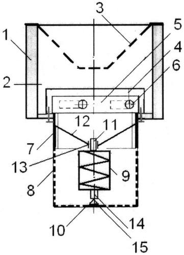 Способ кочетова вихревого рассекания потока жидкости и устройство для его осуществления