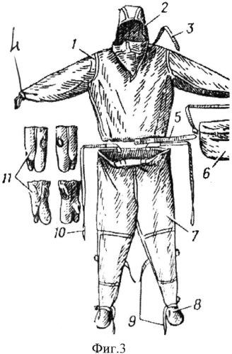 Защитный комплект спасателя