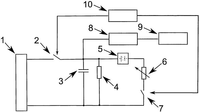 Электронная схема для анализа информации от датчиков переменного электрического сопротивления