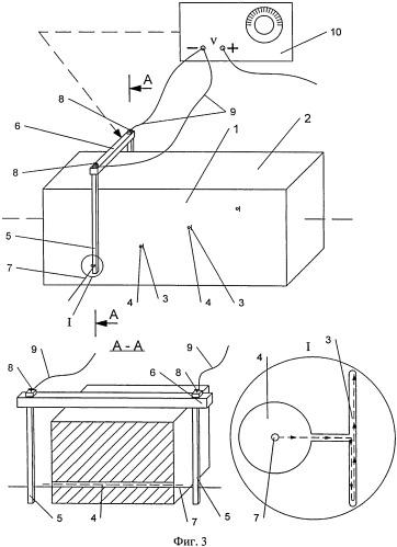 Способ изготовления образцов для настойки дефектоскопической аппаратуры