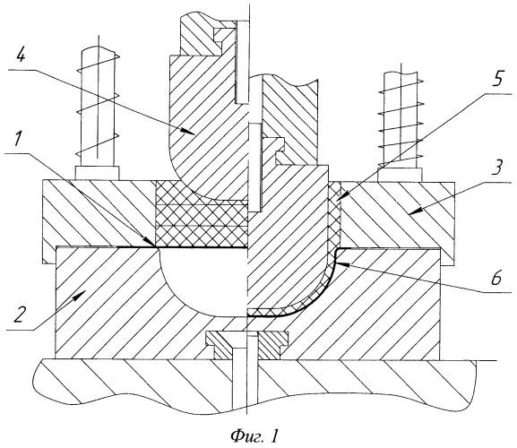 Способ штамповки оболочек сложной формы из тонколистовых материалов