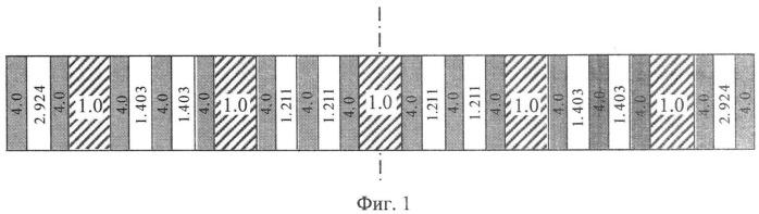 Оптический многослойный полосно-пропускающий фильтр