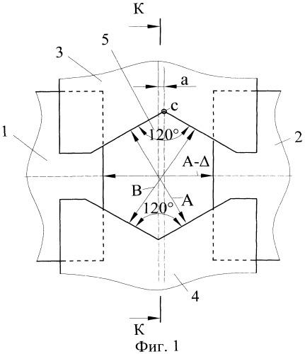 Способ радиальной ковки шестигранных профилей