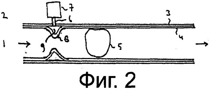 Длинномерный трубопровод, способ устранения в нем пробки и способ транспортировки по нему материала