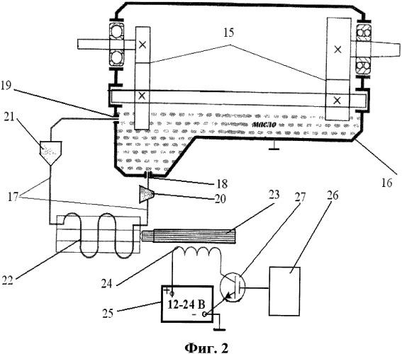 Устройство повышения долговечности узлов трения в двигателях внутреннего сгорания и в редукторах (варианты)