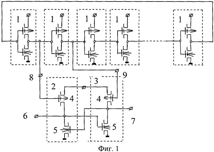 Кольцевой генератор на кмдп транзисторах