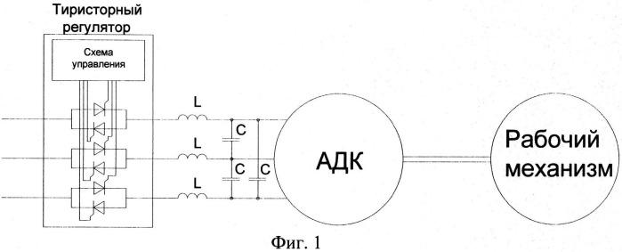 Асинхронный двигатель с исключенным режимом холостого хода