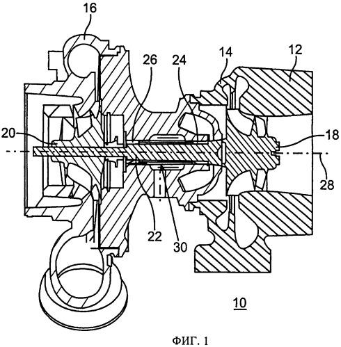 Турбокомпрессор, приводимый в действие отработавшими газами