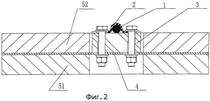 Демпфирующая панель для стального троса
