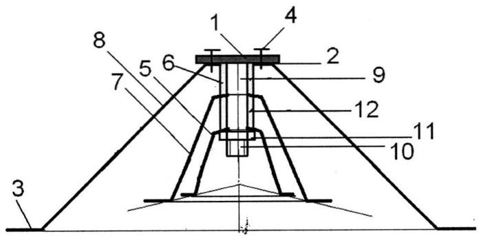 Равночастотный пакет упругих элементов тарельчатого типа кочетова