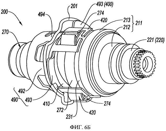 Дисковый тормоз с преобразующим движение патроном, снабженным противодеформационным устройством