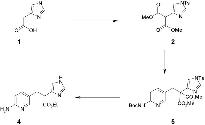 Способ получения соединения, применимого в качестве ингибитора tafia