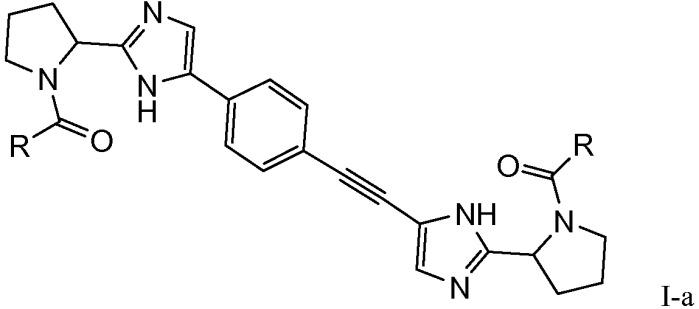 Фенилэтинильные производные в качестве ингибиторов вируса гепатита с