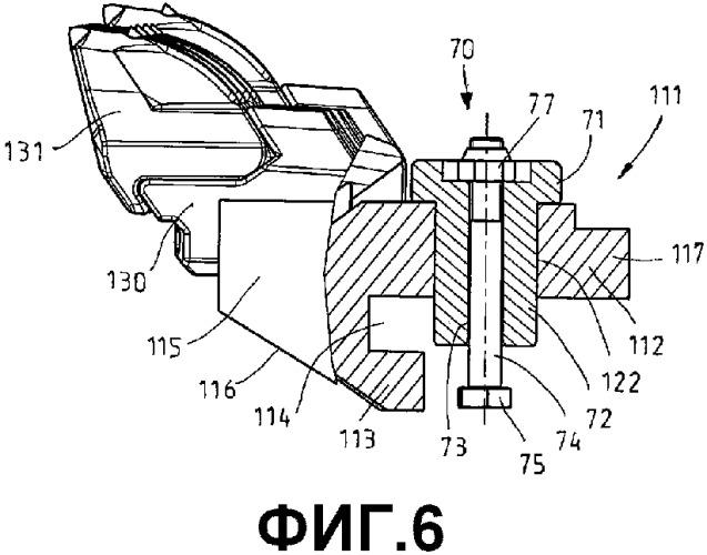 Резцовое устройство для струга и струг для струговых устройств