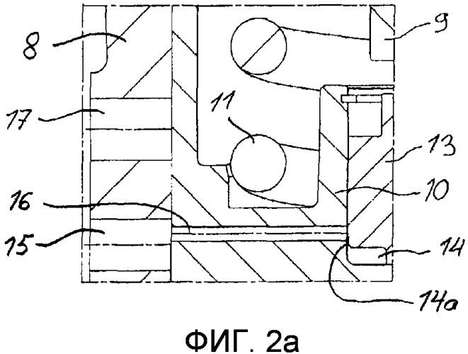 Устройство управления для газового обмена в поршневом двигателе