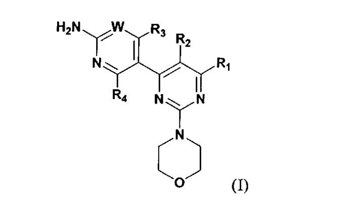 Комбинация ингибитора фосфатидилинозитол-3-киназы (р13к) и ингибитора mtor
