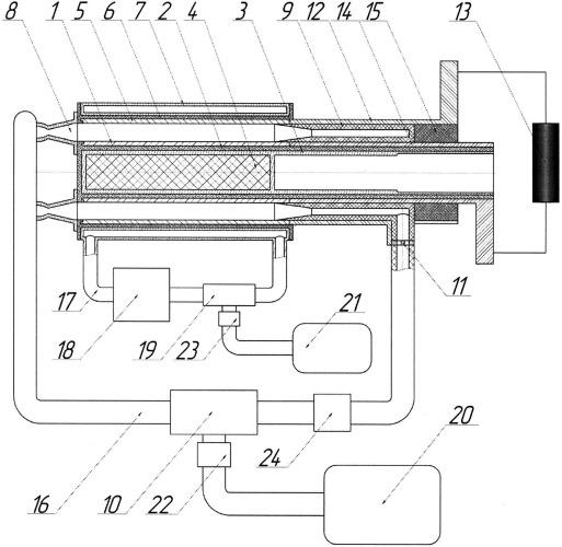 Термоэмиссионый электрогенерирующий канал