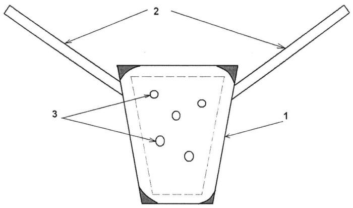 Способ вагинальной экстраперитонеальной кольпопексии перфорированным полипропиленовым имплантатом