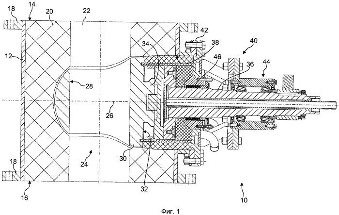 Клапан регулировки горячего дутья для металлургической установки