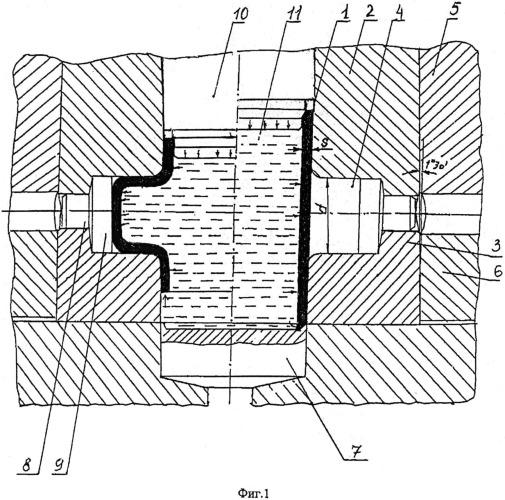 Способ изготовления трубчатых деталей с отводами посредством гидравлической штамповки