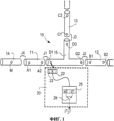 Система маркировки соединений сборных элементов, предназначенных для формирования таких конструкций, как, в частности, трубопровод или резервуар и способ маркировки, используемый согласно такой системе