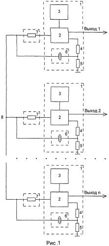 Многоканальный кварцевый генератор