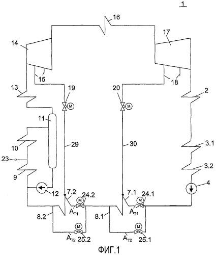 Способ эксплуатации прямоточного парогенератора, функционирующего при температуре пара более 650ос, и прямоточный парогенератор