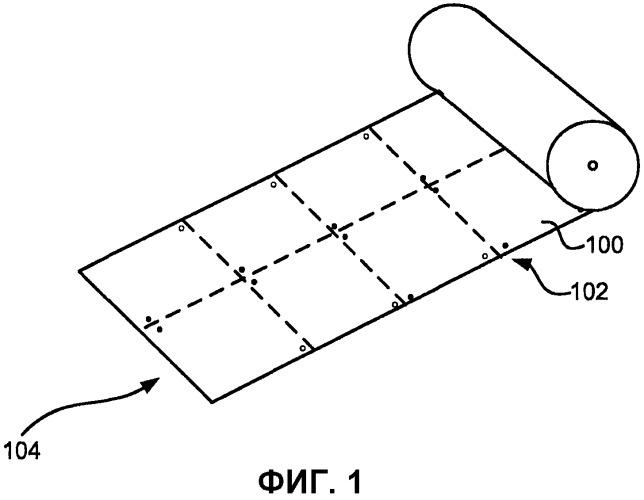 Упаковочный материал, содержащий намагничивающиеся участки