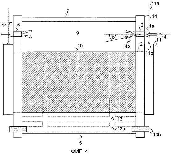 Воздухораспределительное устройство для первичного воздуха в коксовальных печах