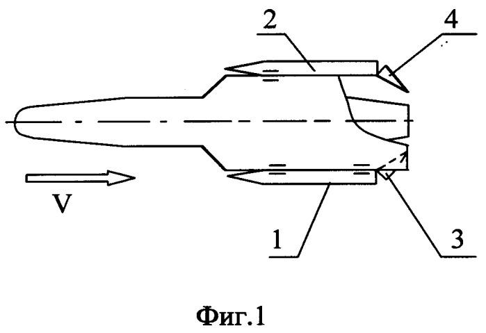 Способ раскладывания консолей крыла летательного аппарата