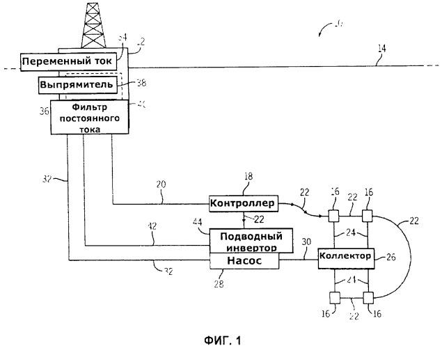 Подводный инвертор с питанием на постоянном токе