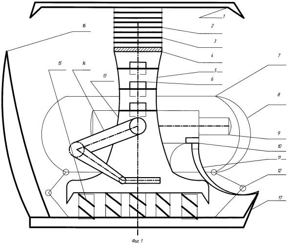 Механизированная крепь для наклонных пластов