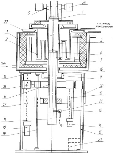 Устройство для измерения параметров диэлектриков при нагреве